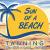 Sun of a beach tanning